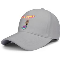 Cartoon Baseballs Australia - Curved Men Women visor cap Lil Pump the tour cartoon character fitted baseball hats Fitted hats 100% Cotton