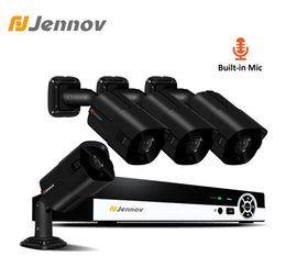 $enCountryForm.capitalKeyWord Australia - Jennov 4CH HD 2MP Audio Record Camera Video Surveillance POE Outdoor Night Vision Home Security Camera System CCTV NVR Set IP