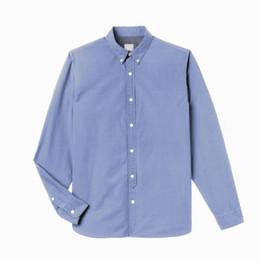 $enCountryForm.capitalKeyWord Australia - Shirts For Men Spring and Autumn Lapel Long Sleeve Brand Logo Embroidery Shirts Designer Men's Tees