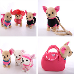 $enCountryForm.capitalKeyWord Australia - New Electronic Pets Robot Dog Der Chi Love Zipper Singing Walking With Bag Interactive Toy For Children Kids Birthday Gifts Q190522