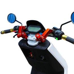 Motocross handlebars online shopping - Motorcycle Adjustable CNC Handlebar System Steering Removable For Bike Dirt handlebar Bike Motocross
