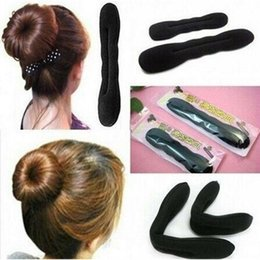 $enCountryForm.capitalKeyWord Australia - Fashion Hair Tool Styling Accessories Hair Sponge Clip Foam Bun Curler New Sculpture Tools