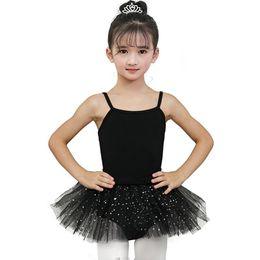 $enCountryForm.capitalKeyWord Australia - Girls Ballet Dance Dress Ballerina Fairy Prom Party Costume Sequined Star Beautiful Gymnastic Leotard Tutu Dress