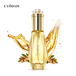 Professional Hair Straightening Australia - LUODAIS Top quality 2.1 Oz Luxury Diamond Perfume Nourishing Hair Care Essential Oil, Top Professional Salon Repaired Damage Hair
