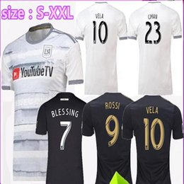 Special version 2019 2020 Los Angeles fc home away LAFC soccer Jerseys 19  20 ZIMMERMAN GABER ROSSI CIMAN VELA FOOTBALL SHIRTS Free Ship 0ea85c12e