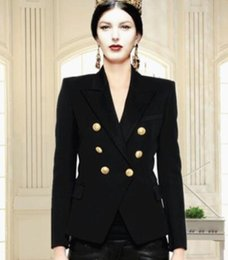 Long Sleeve Polo Fashion Australia - Deluxe 2019 Spring Polo Jackets For Women Long Sleeve US Fashion Ladies Casual Jacket Blazer Slim Fit Solid Coats Black White Red