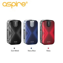 Wholesale materials for building resale online - Aspire NX40 W Mod uses Zinc Alloy Material with Built in Battery mAh for Aspire Rover Kit Original