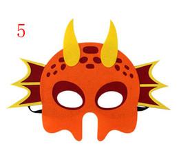 $enCountryForm.capitalKeyWord UK - 2019 Felt mask children's dinosaur mask Tyrannosaurus unicorn dragon sword dragon triceratops educational toy mask Party Full face