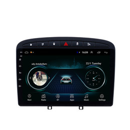 $enCountryForm.capitalKeyWord Australia - Android car mp3 mp4 player excellent bluetooth Resolution HD1080 front camera free map fast delivery for peugeot 308 B 9inch