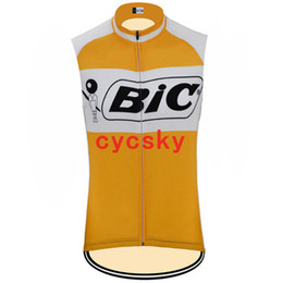men s sleeveless cycling jersey UK - bic 2019 Summer Sleeveless Cycling jersey Pro Breathable Mountain Bicycle Cycling Clothing Racing Bike Clothes For Men