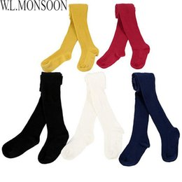 $enCountryForm.capitalKeyWord Australia - Baby Girls Winter Leggings 2016Brand Collants File Children Pants Match with Dress Cotton Knit Kids Leggings for Girls Pantyhose