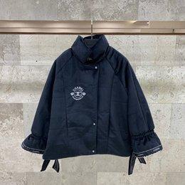 VelVet embroidered coat online shopping - f55 Winter Ladies Jacket Windbreaker Long Oversized Camouflage Womens Jackets And Coats Hooded Shirts Embroidered velvet coat