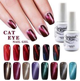 $enCountryForm.capitalKeyWord NZ - New Colors 12PCS high quality soak off led uv cat eye gel polish