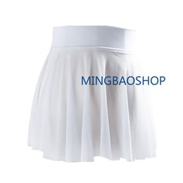 $enCountryForm.capitalKeyWord Australia - New Adult Mesh Ballet Dance Tutu Dress Girls Ballroom Dance Wrap Skirt Women 3 Color Ballet Dress Balerinas 2019