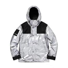 Metallic 3d online shopping - Luxury Mens Designer Jacket FW Men Women Windbreaker Designer Jacket Mens Clothing Metallic Designer Winter Coats Size S XL