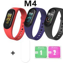 Film Fitness online shopping - M4 Smartband Bracelet Watch Monitor Fitness Tracker Xiomi Activity Xaiomi Xiami Xaomi Xaiomy Protective Film Screen Protector
