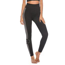 $enCountryForm.capitalKeyWord Australia - Women Workout Striped Circle Print Leggings Fitness Sport Yoga Athletic Pants Running Sports Gym Yoga Athletic Pants Mulheres#3