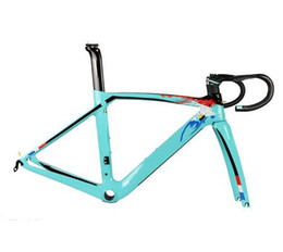 Woven carbon fiber online shopping - XR4 carbon fiber road bike frame Aero road bicycle frame fork seatpost rim brake disc brake UD weave DPD XDB free tax