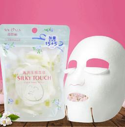 20Pcs/Pack Compression Mask Paper Skin Care DIY Pad Disposable Candy Nonwoven Fabric Mask Paper Face Skin Clean Paper Cleaner