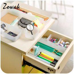 Drawer Desk Storage Boxes Australia - 1pc Organizer Trays Home Office Storage Kitchen Bathroom Closet Desk Box Drawer Organization Tray Cutlery Cosmetics