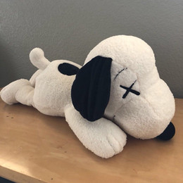 Video ring online shopping - New Inch kaws Snoopy Surprise Bull dog Plush toys Stuffed Animals Husky Key Ring Plush Backpack Accessories Best Girls For Kids
