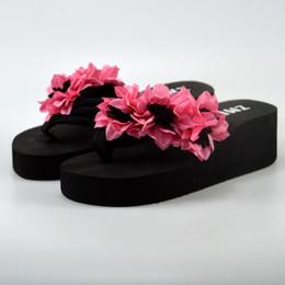 9a4d46fd4 MUQGEW summer flat sandals ladies bohemia beach flip flop Muffin Wedge  Slippers Sandals Home Bathroom Beach Flip Flops Shoes