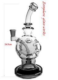matrix bongs Canada - Classic works exosphere Glass Bongs With Matrix Perc Glass Oil Rig ball rigs dab rigs fab egg klein torus bong seed of life perc glass copy