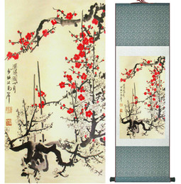 $enCountryForm.capitalKeyWord Canada - Traditional Birds And Flower Painting Home Office Decoration Chinese Scroll Painting Spring Ink Wash Painting042407