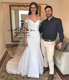 cheap winter style wedding dresses NZ - Sexy Vintage Lace Mermaid Wedding Dresses 2020 Plus Size Off Shoulder Arabic Design Vestido De Novia Greek Style Cheap Bridal Gowns