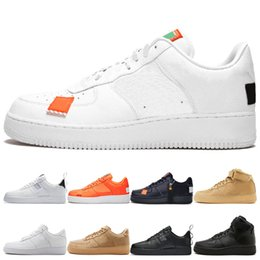 Media Pack Australia - HOT Men pack white Low Basketball Shoes Women Fashion black high triple black flax low orange utility white Sport Trainer Shoes size 36-45