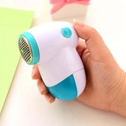 Woolen Knitted Clothes NZ - new portable electric clothes lint remover fabric fluff pill sweater fuzz shaver for clothes in house clean tool