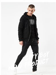 Male Fashion Suits Australia - 2019 Hot Mens Hip Hop Hoodies Sweat Suit Tracksuit Male Black Hoodies Fashion Cheap Price Streetwearn With Ring Sleeve Printing#1807