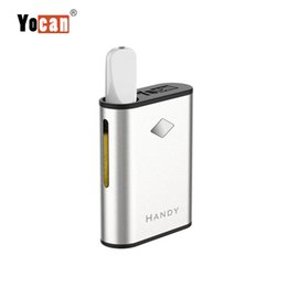 magnetic vape 2019 - Newest Original Yocan Handy Box Mod 500mAh Preheat Vape Battery With Magnetic Connection Vaporizer Pal 510 Thick Oil Car