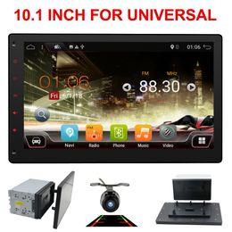 10,1 pouces 8 Core 2 DIN universel Android 8.1 Autoradio GPS Radio Vidéo Lecteur Stéréo Auto BT RDS Unité principale avec SWC dab + WIFI en Solde