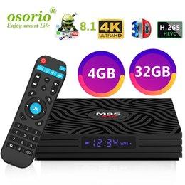 $enCountryForm.capitalKeyWord Australia - 4GB 32GB M9S Y1 Android 8.1 Smart TV Box RK3328 Quad-Core 2.4G WiFi Bluetooth 4.0 Set-top box H.265 VP9 HDR 4K HD Media Player Factory OEM