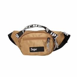a957d7972fd6 2019 Oxford Waist Bags Women Men Fanny Pack Shoulder Belt Bag Fashion  Designer Crossbody Chest Packs Letter Bum Bag Hip Hop Sports BumBag