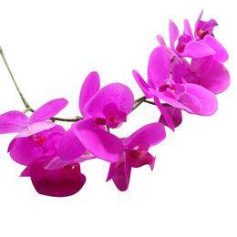 $enCountryForm.capitalKeyWord UK - Artificial Silk Fake Flowers Phalaenopsis Wedding Bouquet Party Home Decor kunstbloemen dried flowers