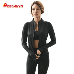 Body Fitness Suit Australia - ROEGADYN 2019 Women Hot Sweat Sports Suits Running Sets Slimming Fitness Yoga Suits Sweating Gym Clothes Body Shapers #121680