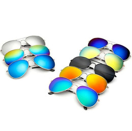 $enCountryForm.capitalKeyWord Australia - Retro Frog Sunglasses 26 Colors Outdoor Summer Classic Reflective Sun Glasses Rainbow Fashion Eyeglasses 100pcs OOA7035