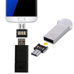 drive readers UK - Mini Android Style Micro USB OTG USB Drive Reader, For iPhone, Galaxy, Huawei, Xiaomi, LG, HTC and Other Smart Phones and Tablets Supporting