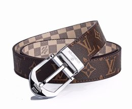 1bbbde33fda 2019 recommended leather belt reversible double-letter leather belt fashion  men s and women s leather belts