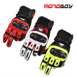$enCountryForm.capitalKeyWord Australia - 2017 Winter New Motoboy off road motorcycle gloves carbon fiber motorbike glove of the Sheep leather 4 color size M L XL XXL