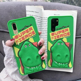 $enCountryForm.capitalKeyWord NZ - For Huawei P20 P30 Mate 20 Y9 2019 Case 3D Cartoon Dinosaur Animals Soft Silicone Rubber Shockproof Phone Case Cover For Honor 8X Play