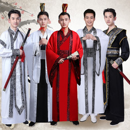 Wholesale suit chinese male for sale - Group buy Tang Suit Male Chinese Traditional Costume Kimono New Traditional Festival Clothing for Men Oriental Robe Chinese Dress Men