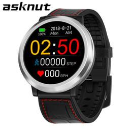 592901921950 Asknut reloj inteligente pantalla a color multifunción ejercicio  inteligente ritmo cardíaco presión arterial sueño salud monitoreo remoto