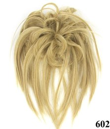 Brown drawstring ponytail online shopping - 137 Synthetic Ponytail Long Straight Hair quot quot Clip Ponytail Hair Extension Blonde Brown Ombre Hair Tail With Drawstring