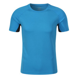 $enCountryForm.capitalKeyWord Australia - Sports speed dry adult color matching T shirt customized summer short sleeve work clothes to figure custom logo embroidery