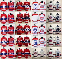 5133ce09b 2019 Montreal Canadiens 15 Jesperi Kotkaniemi 31 Carey Price Shea Weber  Jonathan Drouin Max Domi Brendan Gallagher Andrew Shaw Hockey Jersey