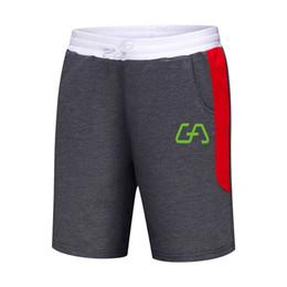 White Workout Shorts UK - 2019 new Men Shorts Men's Slim Fitness Bodybuilding Jogger Mens Brand durable Sweatpants Fitness Workout Cotton Shorts