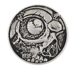 1936 Coins Australia - Hobo Creative Coin 1936 The skull bats commemorative coin silver coin imitation set decoration handicraft factory wholesale